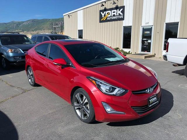 2014 Hyundai Elantra Sport Sedan FWD