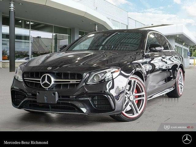 2020 Mercedes-Benz E-Class E AMG 63 S 4MATIC Sedan AWD