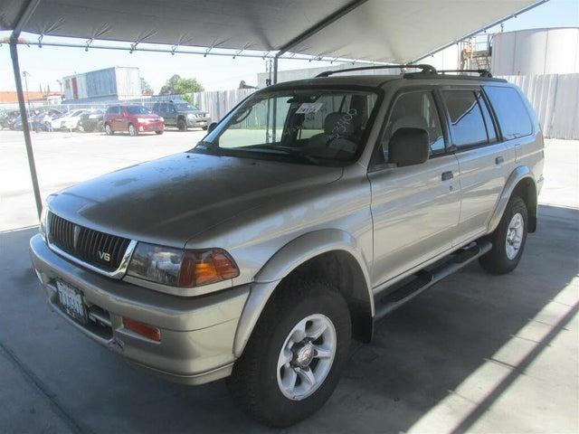 1999 Mitsubishi Montero Sport 4 Dr XLS 4WD SUV