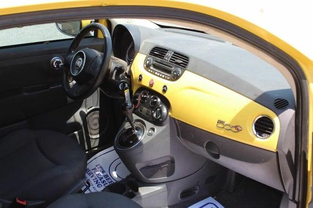 2013 FIAT 500 Pop Convertible