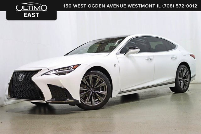 Used 2021 Lexus Ls 500 F Sport Awd For Sale With Photos Cargurus