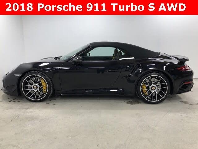 2018 Porsche 911 Turbo S Cabriolet AWD