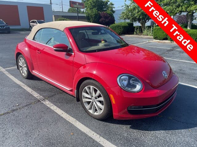 2015 Volkswagen Beetle TDI Convertible with Sound and Navigation