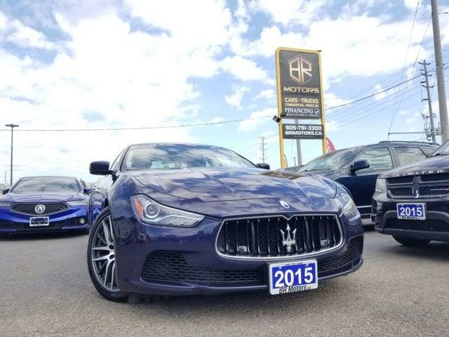2015 Maserati Ghibli S Q4 AWD