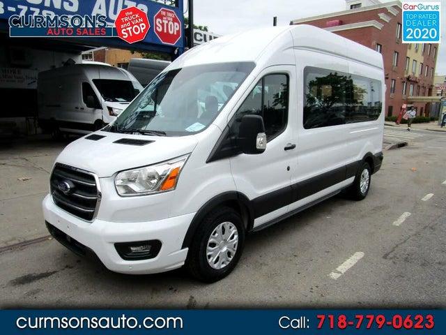 2020 Ford Transit Passenger 350 XLT High Roof LWB RWD with Sliding Passenger-Side Door