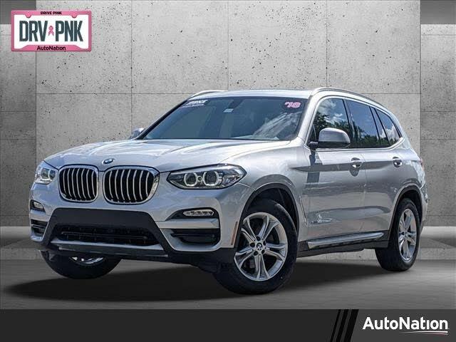 2018 BMW X3 xDrive30i AWD