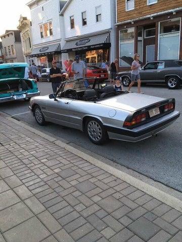 1986 Alfa Romeo Spider Veloce RWD