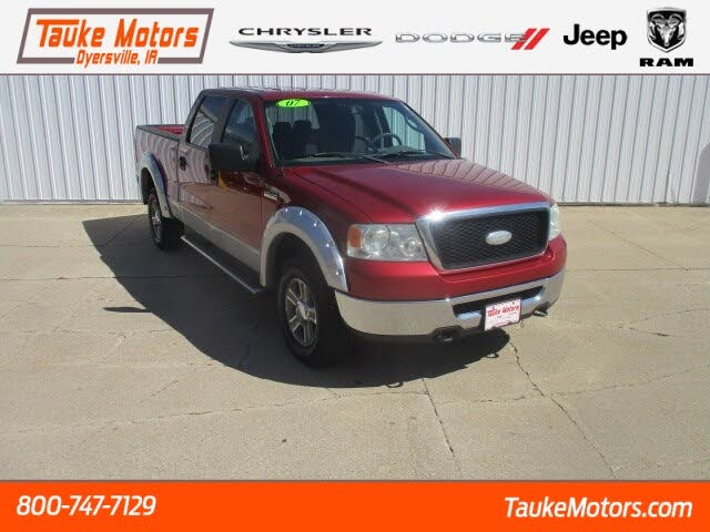 2007 Ford F-150 XLT SuperCrew Short Bed 4WD