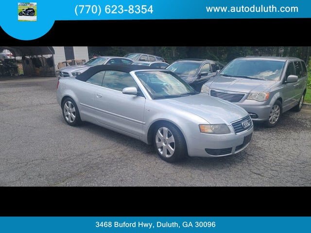 2005 Audi A4 1.8T Cabriolet FWD