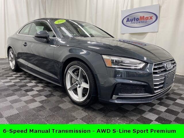 2018 Audi A5 2.0T quattro Premium Coupe AWD