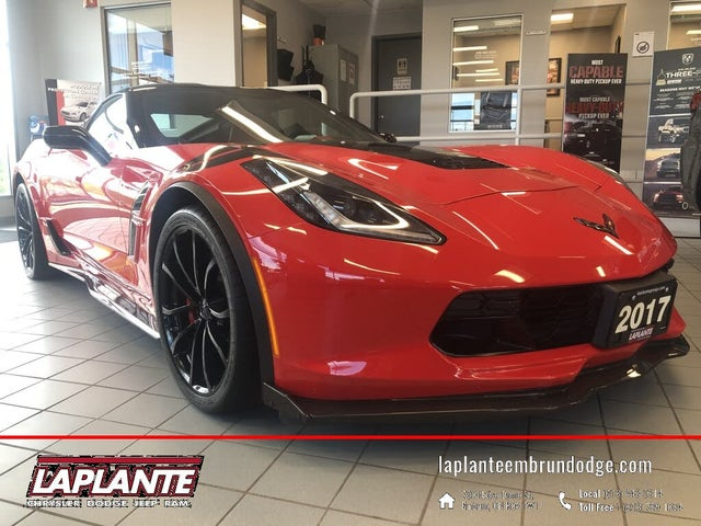 2017 Chevrolet Corvette Grand Sport 3LT Coupe RWD