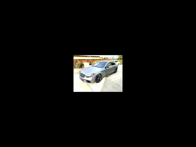 2018 Mercedes-Benz S-Class S AMG 63 4MATIC AWD