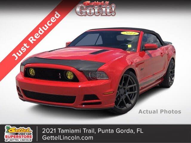 2014 Ford Mustang GT Premium Convertible RWD