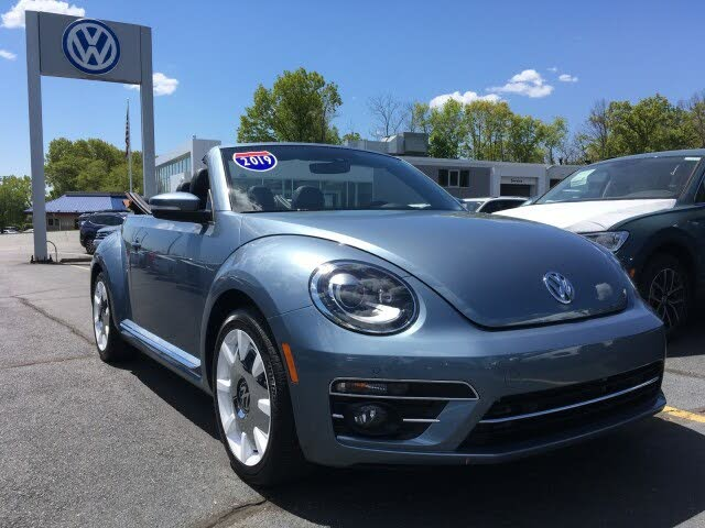2019 Volkswagen Beetle 2.0T Final Edition SEL Convertible FWD