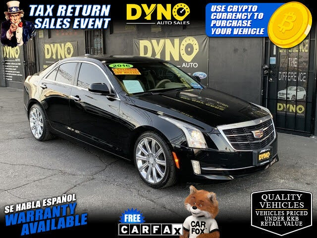 2016 Cadillac ATS 3.6L Premium RWD