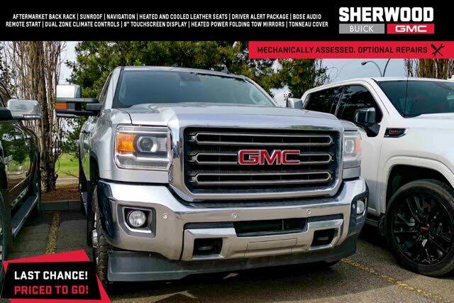 2015 GMC Sierra 2500HD SLT Crew Cab SB 4WD