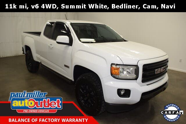 2019 GMC Canyon All Terrain Extended Cab LB 4WD with Cloth