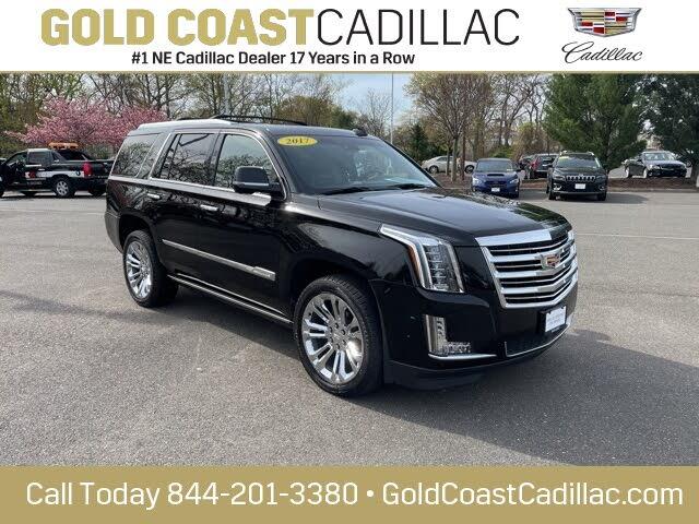 2017 Cadillac Escalade Platinum 4WD