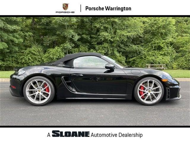2020 Porsche 718 Boxster Spyder RWD