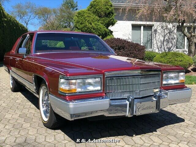 1992 Cadillac Brougham RWD