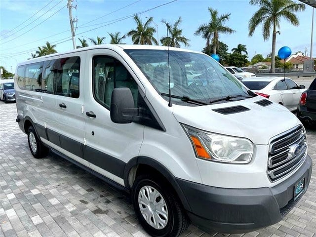 2015 Ford Transit Passenger 350 XL Low Roof LWB RWD with 60/40 Passenger-Side Doors