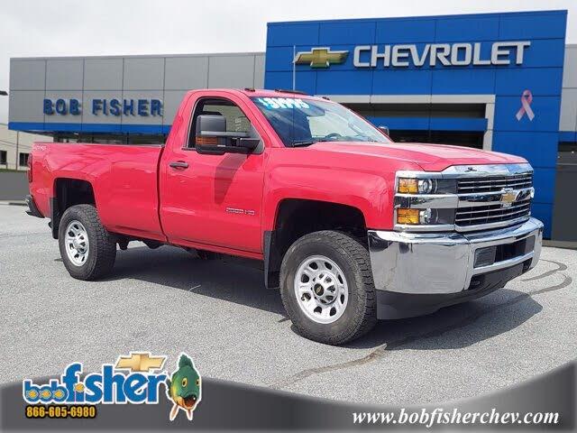 2015 Chevrolet Silverado 2500HD Work Truck LB 4WD