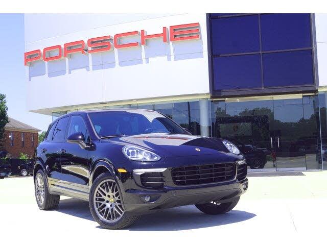 2018 Porsche Cayenne Platinum Edition AWD