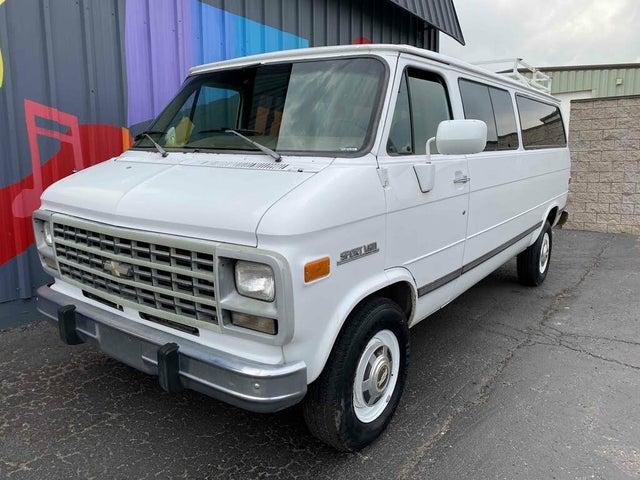 1993 Chevrolet Sportvan 3 Dr G30 Passenger Van Extended