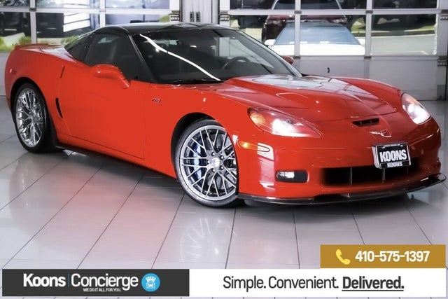 2009 Chevrolet Corvette ZR1 3ZR Coupe RWD