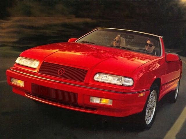 1994 Chrysler Le Baron GTC Convertible