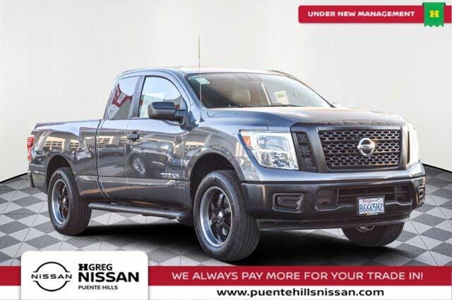2018 Nissan Titan S King Cab 4WD