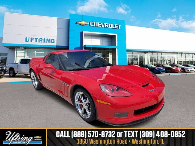 2013 Chevrolet Corvette Z16 Grand Sport 2LT Coupe RWD
