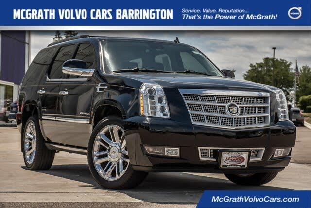 2012 Cadillac Escalade Platinum 4WD