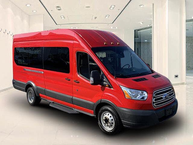2017 Ford Transit Passenger 350 HD XLT Extended High Roof LWB DRW RWD with Sliding Passenger-Side Door