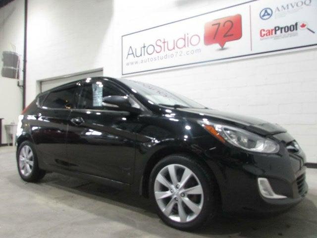 2013 Hyundai Accent GLS 4-Door Hatchback FWD