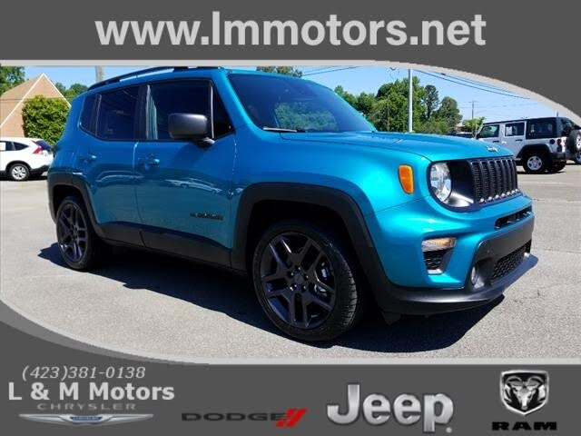 2021 Jeep Renegade 80th Anniversary Edition FWD