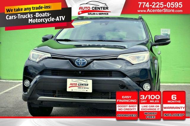 2016 Toyota RAV4 Hybrid Limited AWD