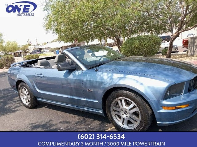 2006 Ford Mustang GT Deluxe Convertible RWD