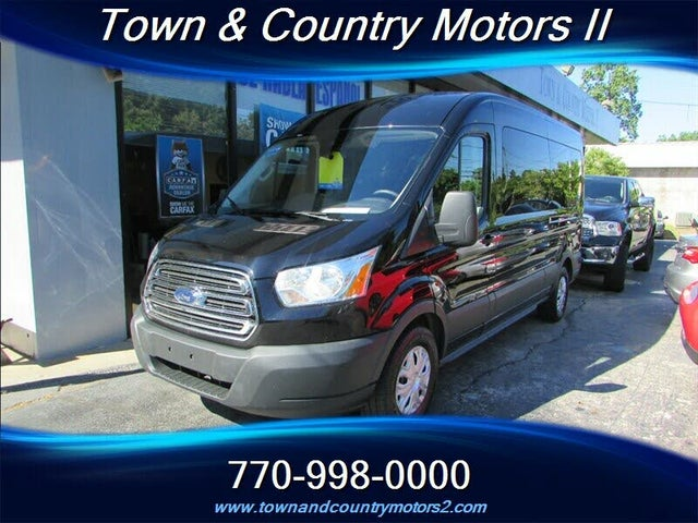 2016 Ford Transit Passenger 350 XLT Medium Roof LWB RWD with Sliding Passenger-Side Door