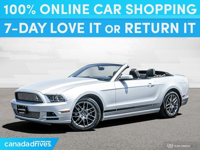 2013 Ford Mustang V6 Premium Convertible RWD