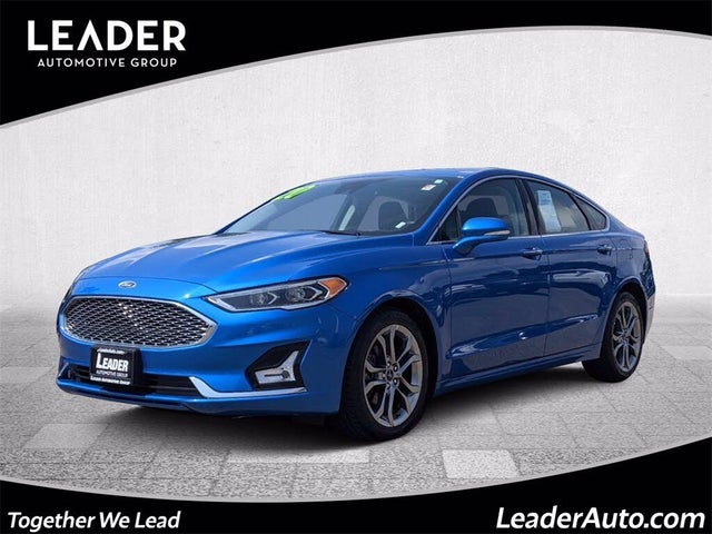 2020 Ford Fusion Hybrid Titanium FWD