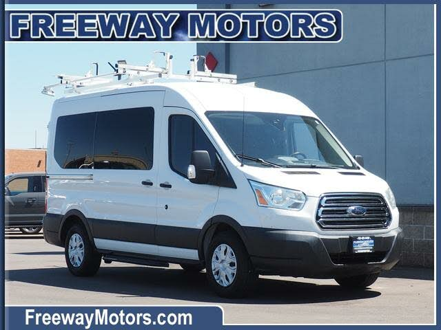2016 Ford Transit Passenger 150 XLT Medium Roof RWD with Sliding Passenger-Side Door