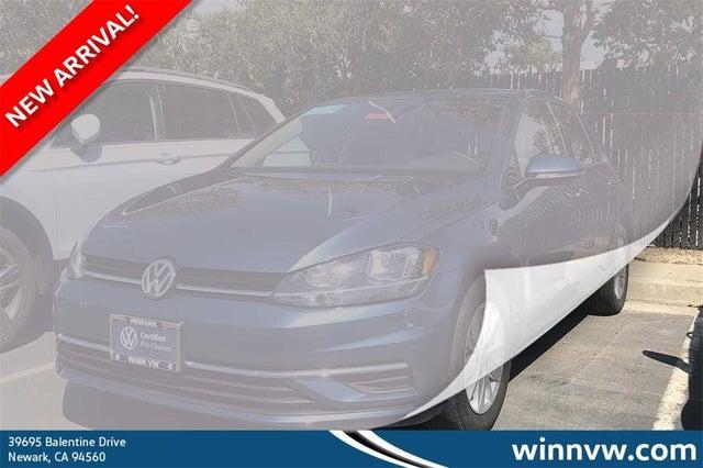 2019 Volkswagen Golf 1.4T S 4-Door FWD