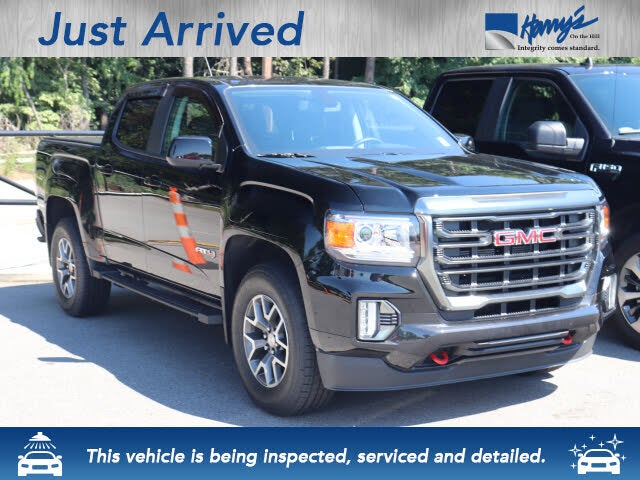 2021 GMC Canyon AT4 Crew Cab 4WD with Leather