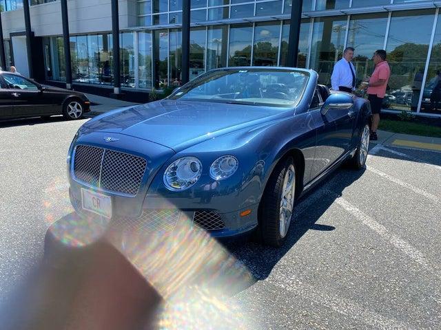 2012 Bentley Continental GTC W12 AWD