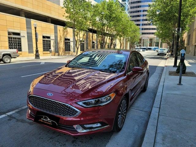 2017 Ford Fusion Hybrid Platinum FWD