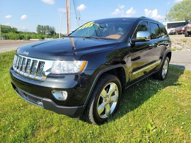 2012 Jeep Grand Cherokee Overland Summit 4WD