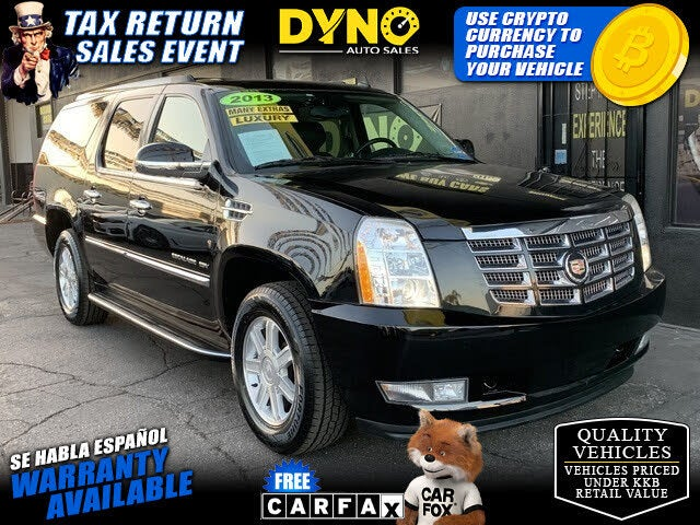 2013 Cadillac Escalade ESV RWD