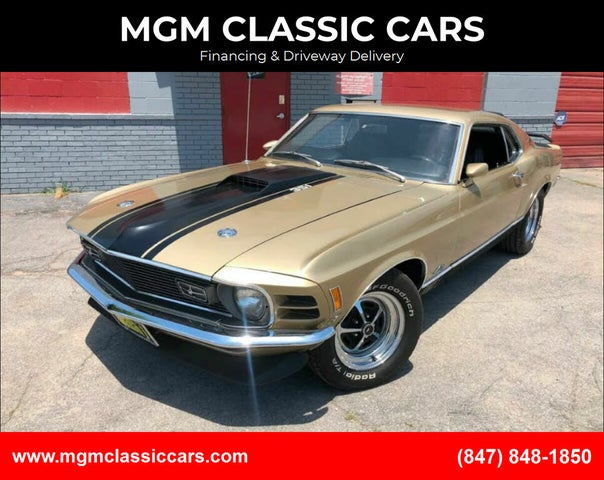 1970 Ford Mustang Mach 1 Fastback RWD