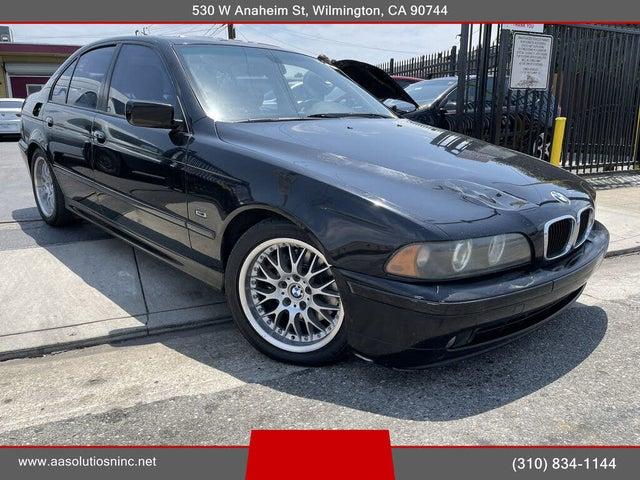 2001 BMW 5 Series 530i Sedan RWD